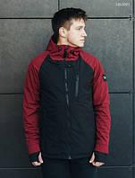Куртка Staff soft shell Solar bordo and black LBL0061