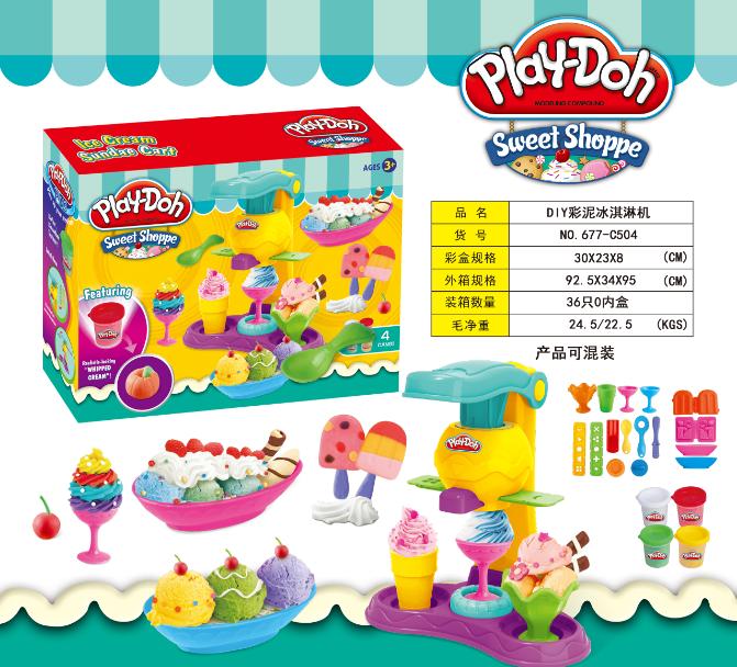 """Ігровий набір Play-Doh """"Магазин солодощів"""" 677-C504"""