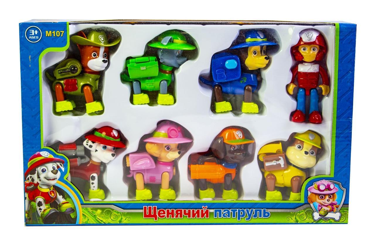 Ігровий набір Дитячого Патруль - Герої-рятувальники (8 до 1) M107