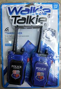 Игрушечные рации Полиция JC624-38 оптом