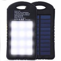 Внешний аккумулятор Power Bank Solar 45000 mAh черный