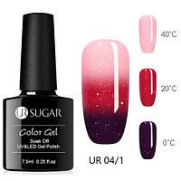 Термо гель-лак для ногтей маникюра термолак 7.5мл UR Sugar, UR-04/1