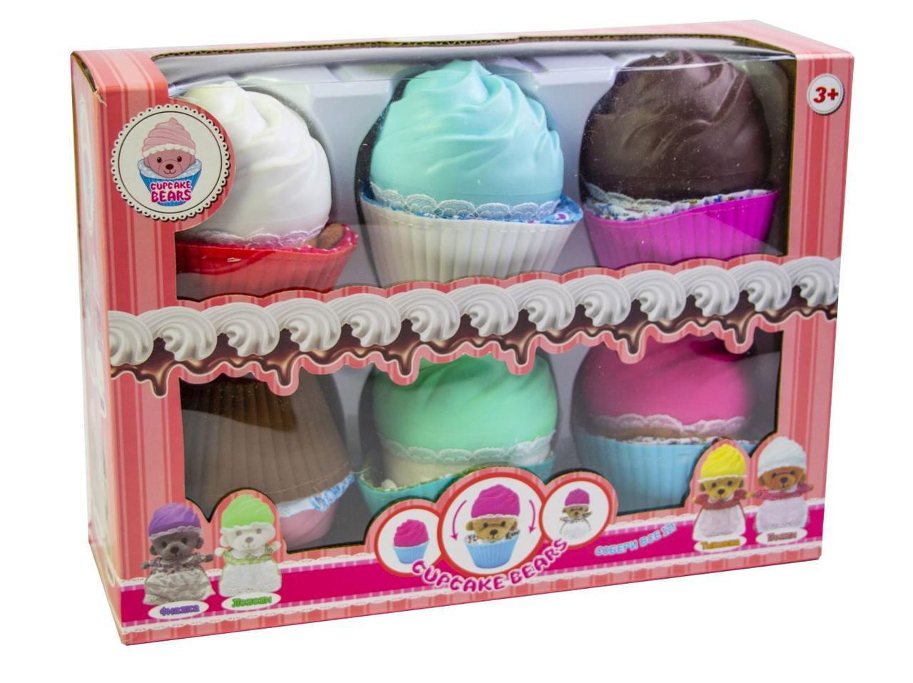 Мишки-кексы Cupcake Bears (1027361207)