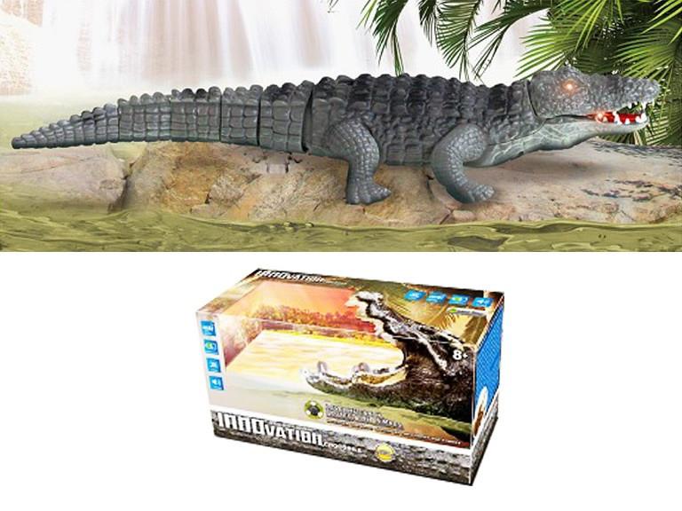 Музичний крокодил зі світлом 9985 (на батарейках) (1741883565)