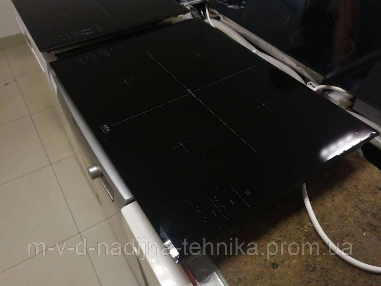 Б/у Индукционная плита/варочная поверхня AEG ГАРАНТІЯ/ДОСТАВКА