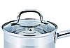 Ковш с крышкой из нержавеющей стали Benson BN-229 (1.8 л) | сотейник | ковшик Бенсон | набор посуды, фото 8