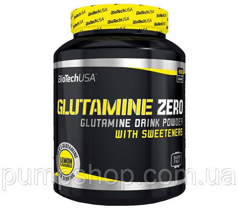 Глютамин BioTech USA Glutamine Zero 300 г (уценка), фото 2