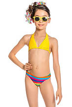 Детский купальник для девочки Arina Италия GM151702 Желтый