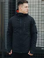 Куртка Staff soft shell Solar black LBL0062