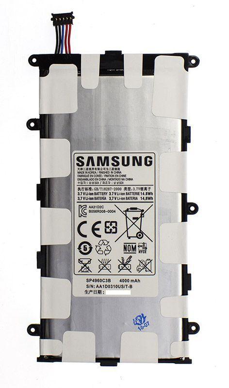 Аккумулятор для планшета Samsung P3110 Galaxy Tab 2 7.0 / SP4960C3B (4000 mAh) Original