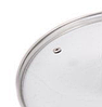 Крышка из закаленного стекла Benson BN-1001 (16 см) | стеклянная крышка на кастрюлю Бенсон | крышка стекло, фото 2