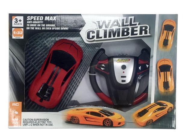 Антигравитационная машинка Wall Climber Lamborghini р/у, ездит по стенам (447001)