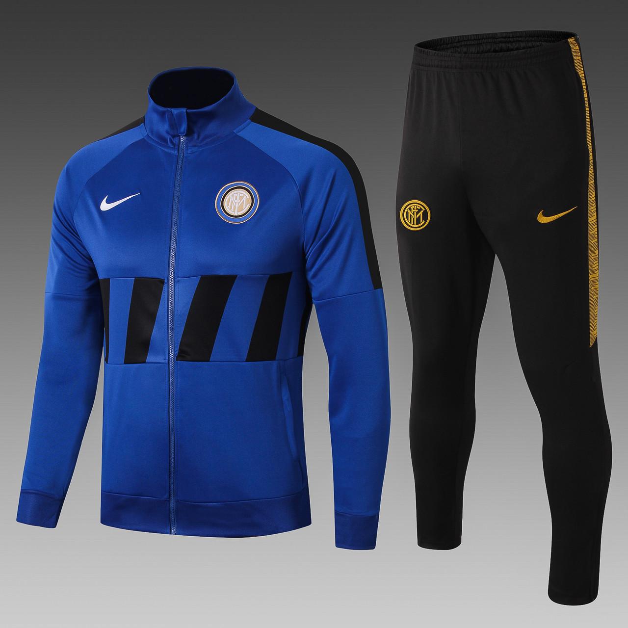 Мужской спортивный тренировочный костюм Интер (Милан) Inter, 2019-20