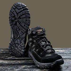 """БОТИНКИ ТАКТИЧЕСКИЕ """"UKR-TEC"""" black ЗАМШЕВЫЕ, 36-46 размеры"""