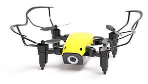 Квадрокоптер Aircraft S9hw Drone mini з камерою і wi-fi Жовтий (1234938975)