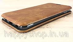 Чехол-книжка Gelius Leather для Samsung Galaxy S10 (SM-G973) Коричневый, фото 3