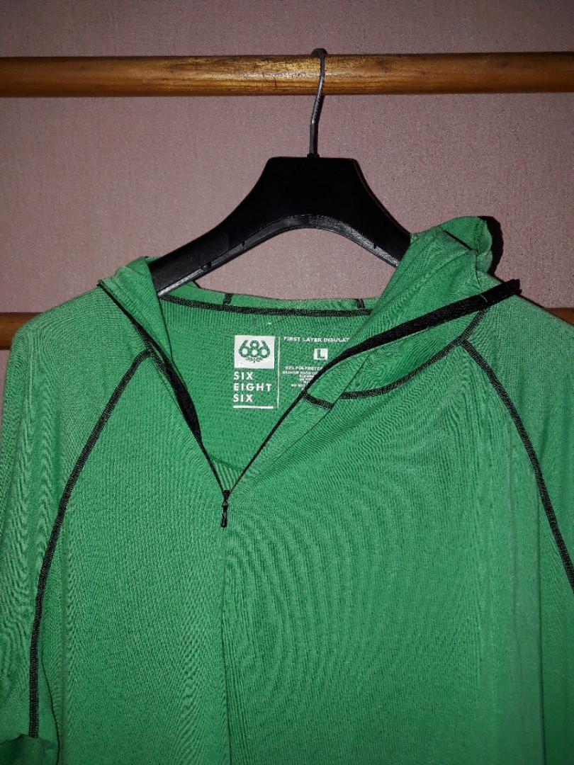 Мужской костюм комбинезон с капюшоном спорт первый слой изоляция first layer insulation фирма 689 размер L