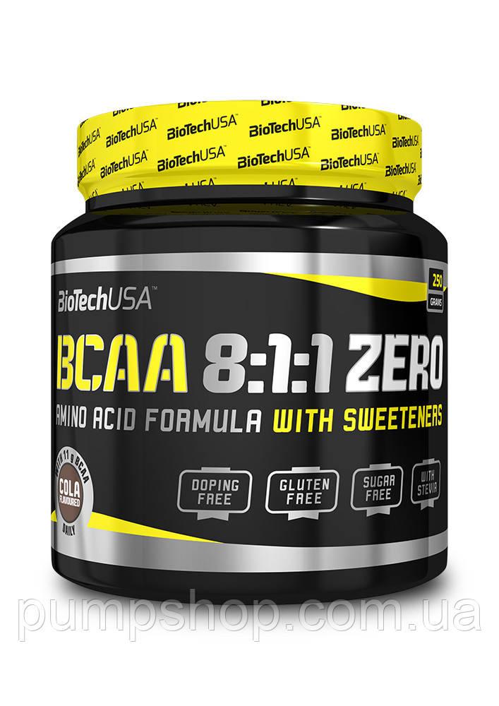 Бцаа BioTech USA BCAA 8:1:1 Zero 250 г