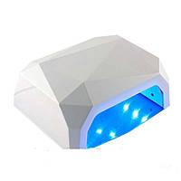 Уф Лед Лампа для ногтей, 36W, 10,30,60сек, сенсор
