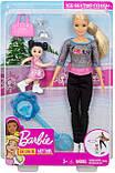 Кукла Барби Тренер по фигурному катанию Barbie Ice Skating Coach Doll & Playset, Blonde Mattel, фото 3