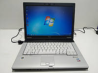 """14"""" Fujitsu Siemens Lifebook s7220 \ c2d p8600 2.4\ 4 ГБ DDR3\ 80 ГБ hdd\  Батарея 3 часа\ Полностью настроен!"""