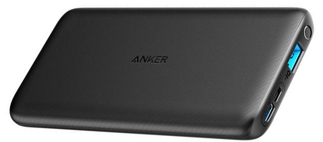 Портативное Зарядное Устройство Anker PowerCore Lite 10000 mAh V3 Black