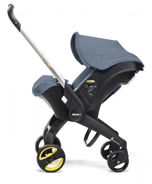 Doona - Детское автокресло-коляска, цвет темно-синий