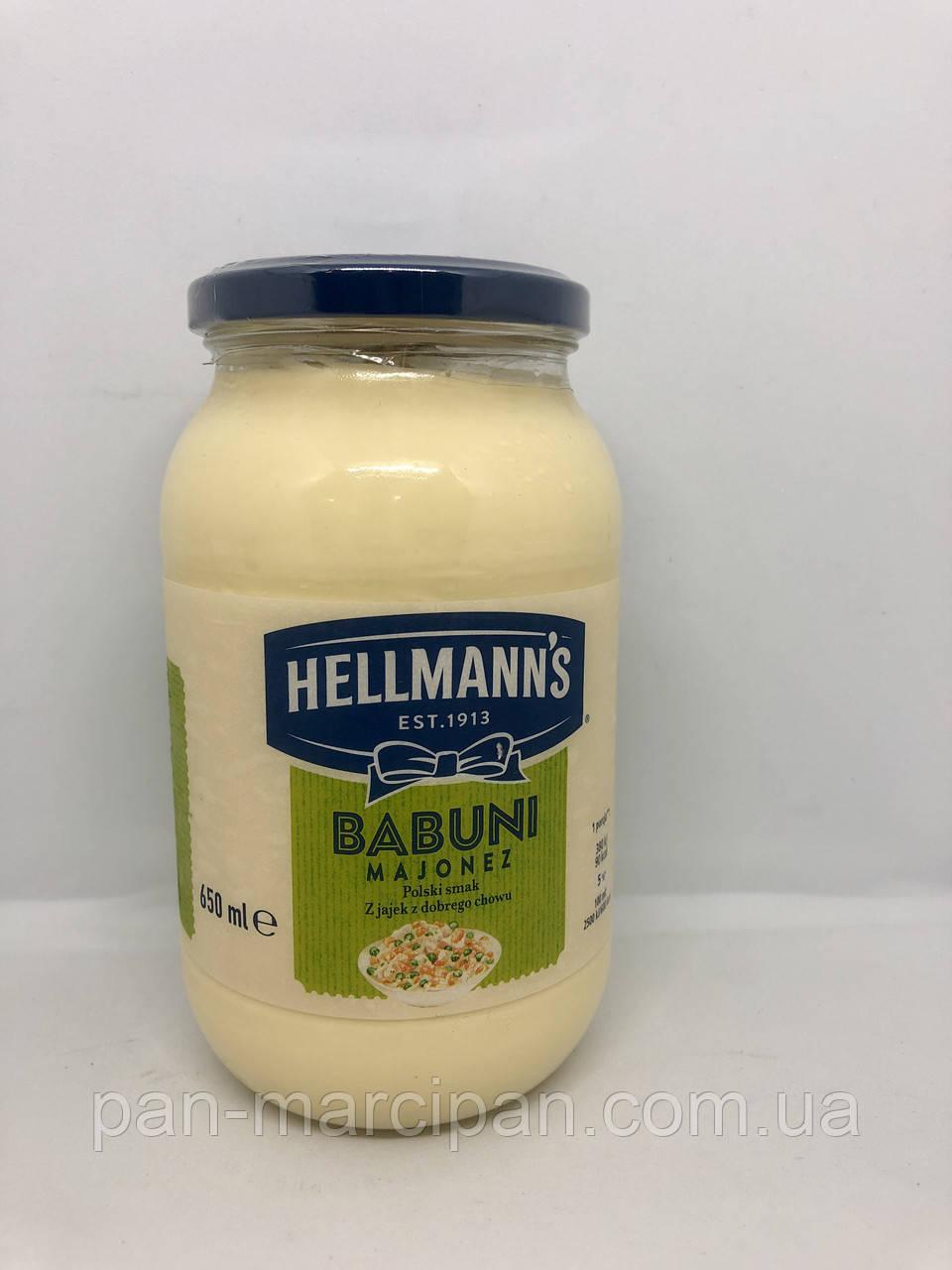 Майонез Hellman's Babuni 650 ml Польща