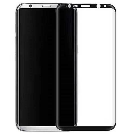 Защитное стекло 3D Edge (full glue) (без упаковки) для Samsung Galaxy S8 / S9, фото 2