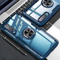 TPU+PC чехол Deen CrystalRing под магнитный держатель для Samsung Galaxy A50 (A505F), фото 2