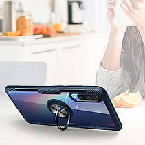 TPU+PC чехол Deen CrystalRing под магнитный держатель для Samsung Galaxy A50 (A505F), фото 3