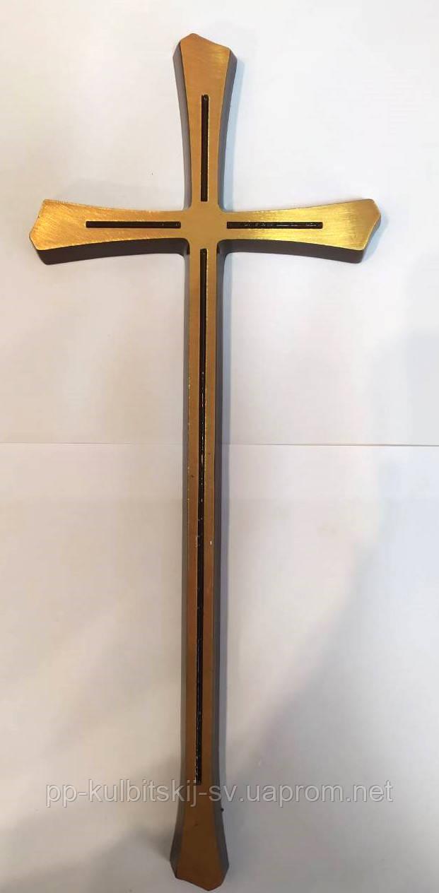 Бронзовий хрест на памятник Г027 і/30*12