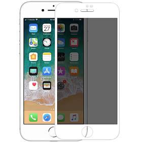 Защитное стекло Nillkin Privacy Glass Full Screen (3D AP+MAX) для Apple iPhone 7 / 8 / SE (2020)..