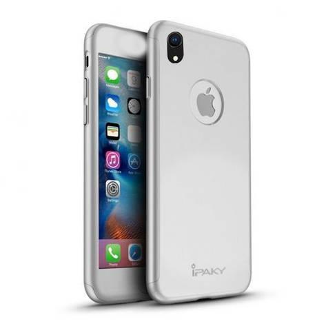 "Чехол iPaky Crystal 360 градусов для Apple iPhone XR (6.1"") (+ стекло на экран), фото 2"