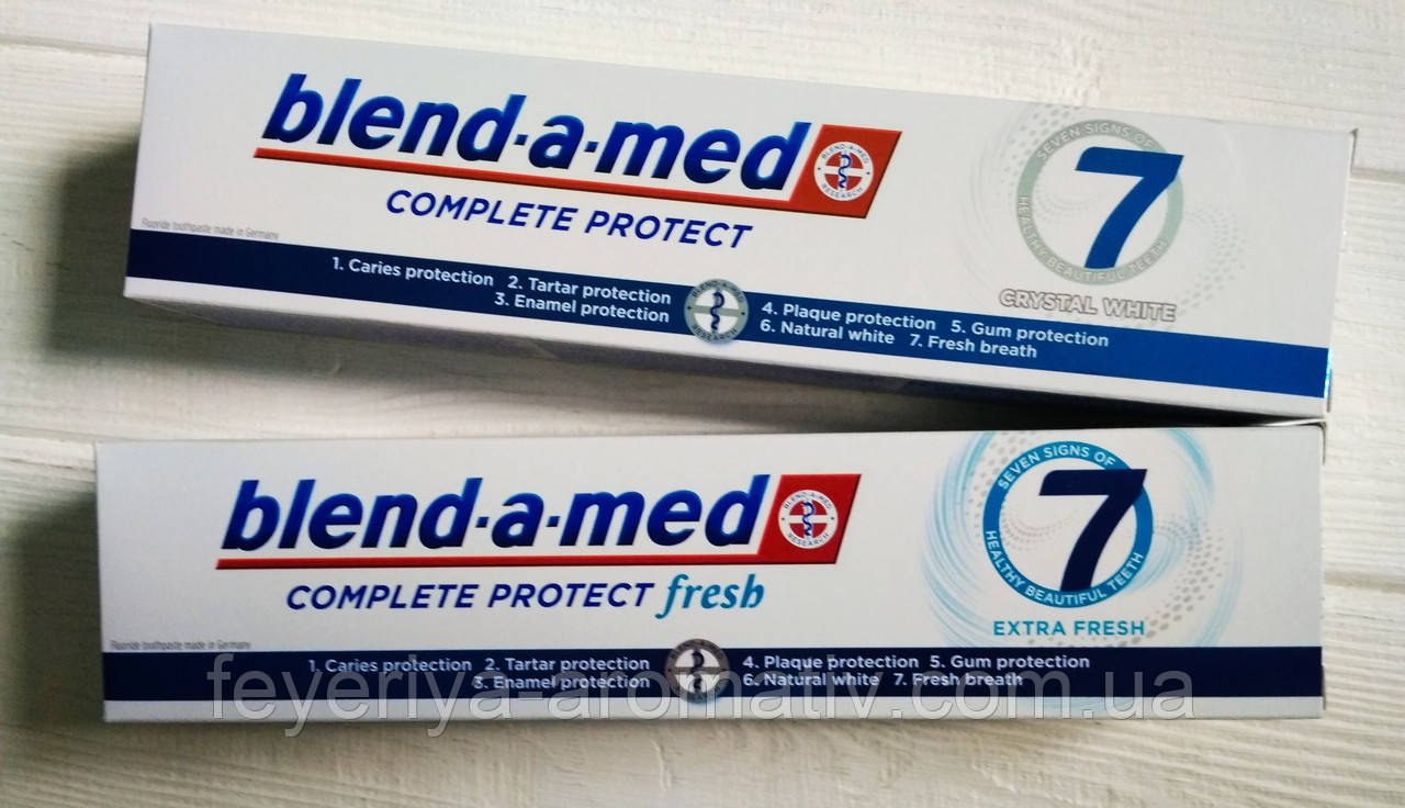 Зубная паста Blend-a-med Complete protect 125 ml