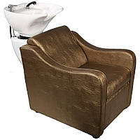 Парикмахерская кресло мойка с глубокой раковиной E-046