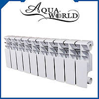 Радиатор алюм. 3-х канальный Aqua World (20 bar, h-280) (ТР102) 290х800мм