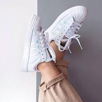 Женские кроссовки Adidas Superstar (реплика), фото 3