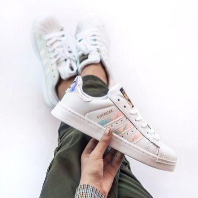 Женские кроссовки Adidas Superstar (реплика)