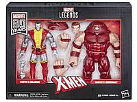 Hasbro Marvel Legends Colossus Juggernaut, Джаггернаут и Колосс
