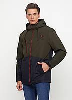 Мужская демисезонная куртка Danstar K-176 (50) хаки