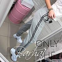 """Спортивные штаны женские с лампасами, размеры 42-46 (3цв) """"BARHAT"""" купить недорого от прямого поставщика"""
