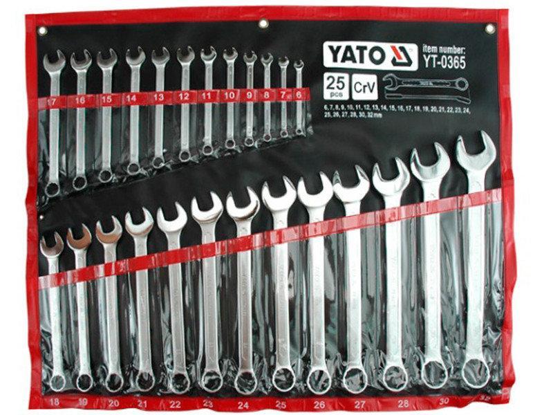 Набор ключей комбинированных Yato YT-0365