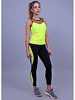 Костюм женский для фитнеса Go Fitness black-green