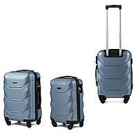 Набор пластиковых чемоданов 2в1 на 4-х колесах, фото 1