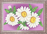 Схема для вышивки бисером - Ромашки, Арт. НБ4-022-2-R - Распродажа