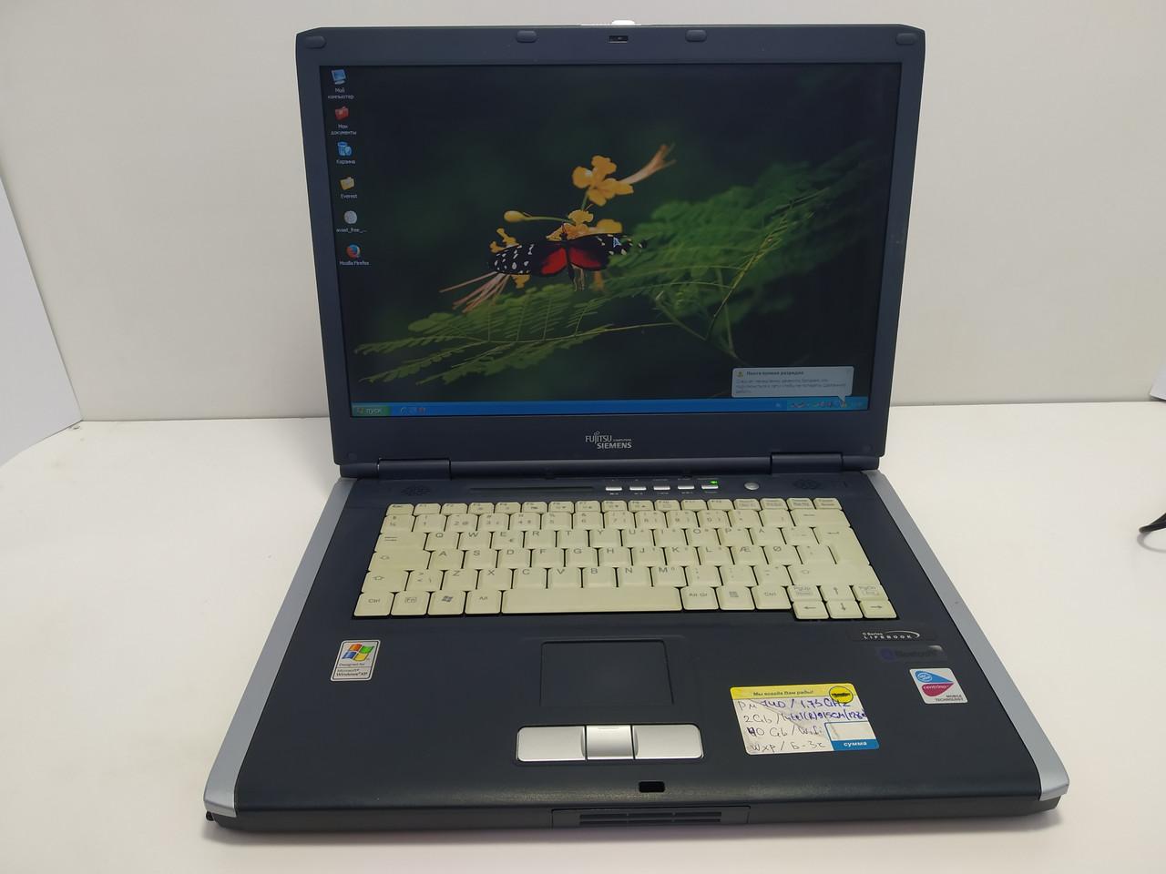 FujitsuSiemensLifebook C1320 \ 2 ГБ ОЗУ \ батарея 3 часа