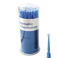 Микроаппликаторы одноразовые для нанесения растворов в стоматологической практике, REGULAR, 2 мм, 100 шт