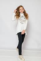 Школьные брюки для девочки Школьная форма для девочек SMIL Украина 115318 синий