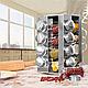 Набор баночек для специй Benson BN-175 из 16 сосудов | спецовник 16 шт на подставке, фото 3